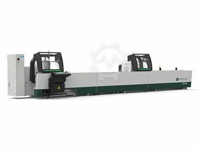 Double head sawing machine