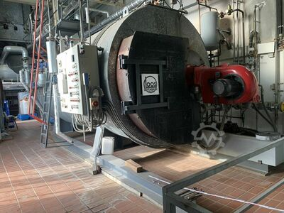 steam boiler; LOOS-6000kg/h-16Bar