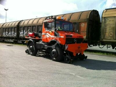Mercedes-Benz U1400,Unimog, [...] and Rail,Railway