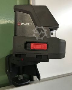 Self-leveling cross line laser WÜRTH
