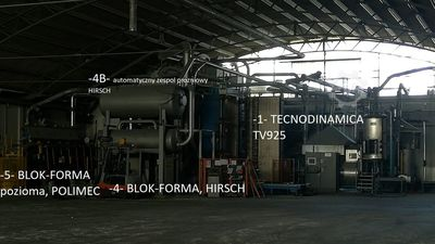 EPS Polystyrene Production Line HIRSCH