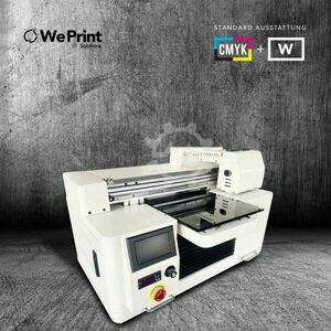 A4 UV LED Printer Blanco + Color Digital