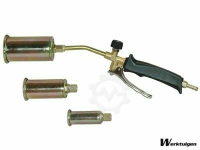 Barntools Burner with three interchangeable heads