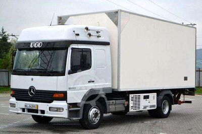 Mercedes-Benz Atego 1223 * Kühlkoffer 5,35 m + Ladebordwand!