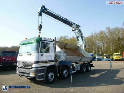 Mercedes-Benz Actros 3243 8x4 2 way tipper Cormach 65000 E3