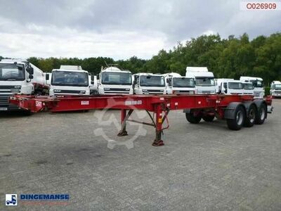 Montracon 3 axle container trailer 20 30 40 45 ft