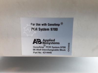 Applied Biosystems 9700 96 Well Block Assembly