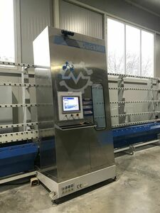 Machine for cutting, drilling and edging