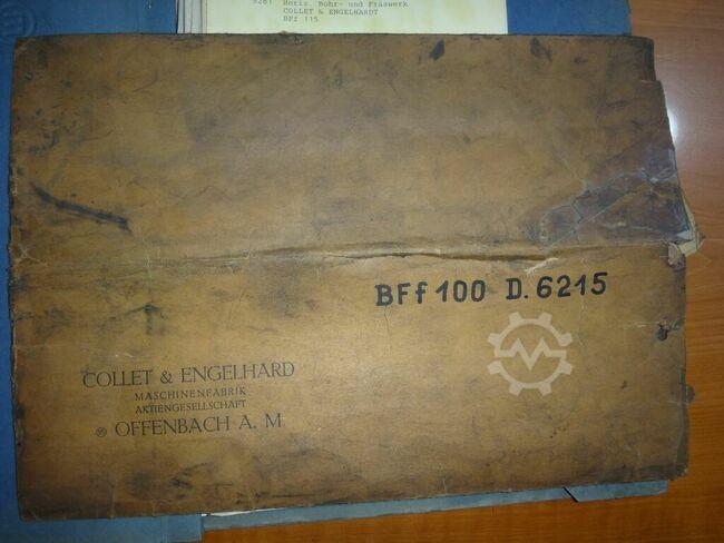 Collet & Engelhard BFf 100