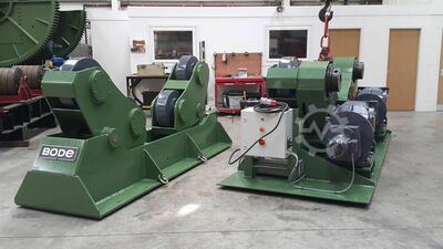 BODE SAR6000 300 Ton Self Aligning Welding Rotator with Idler Support - RECONDITIONED