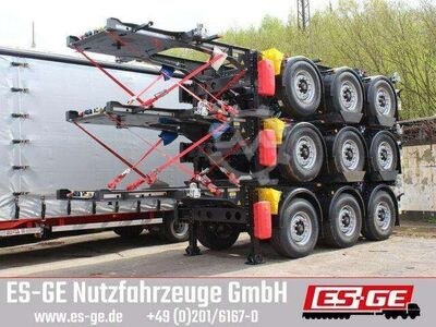 Krone 3 Achs Containerchassis 20ft
