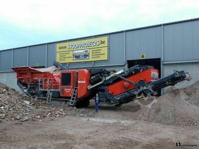 Terex-Finlay I-120RS Impact Crusher For Rent