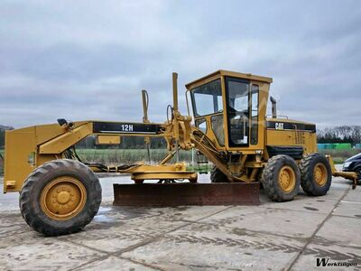 Caterpillar 12H Incl. ripper / pushblock