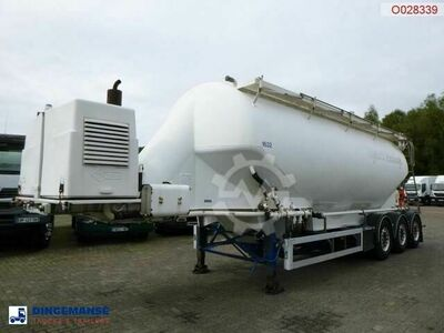 Feldbinder Powder tank alu 40 m3 engine/compressor