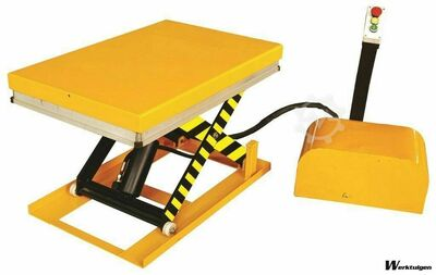 Car Lift table 1000kg, size 916x610mm