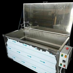 Paint stripping basin Soft paint stripping