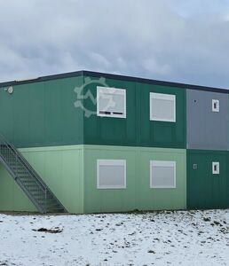 Living container 3-person container unit 54 sqm