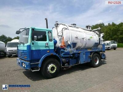 Sonstige/Other Renault G 280 4X2 Huwer vacuum tank 10 m3 / 2 com