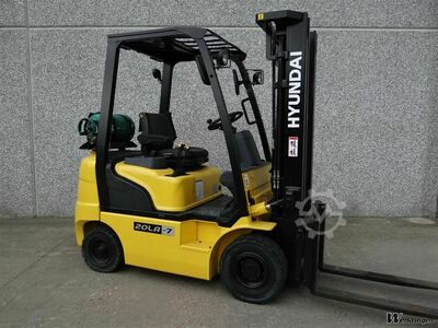 Forklift 2 tons LPG Gas