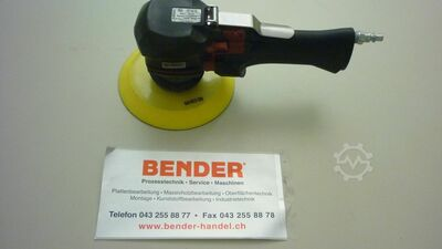 Compressed air eccentric sander