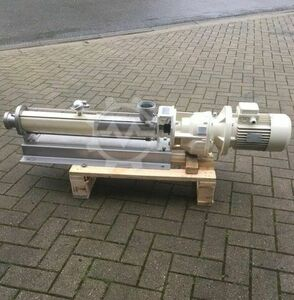 Excentric screw pump