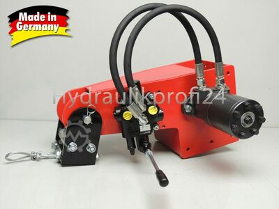 Hydraulic winch manual valve