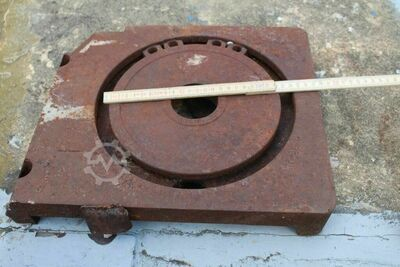 Adapter plate for vertical milling head