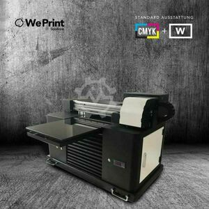 Impresora UV Digital A3 UV4060 CMYK + W