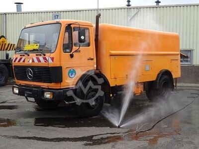 Mercedes-Benz 1622 V6 High Pressure Water Cleaning Truck Good Co