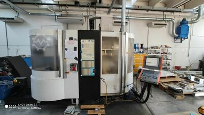 5-axis palletized machining center