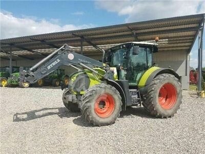 Claas arion 630 + stoll fz