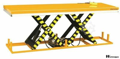 Car Lift table 2000kg, size 2500x820mm