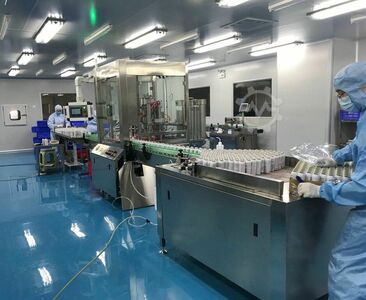 Disinfectant cans spray Filling