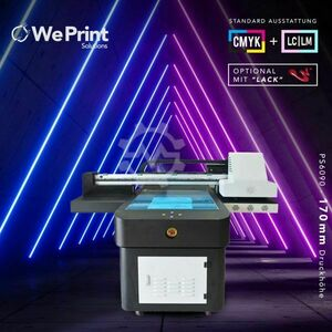 UV Flatbed LED Drucker 60x90cm 170mm + V