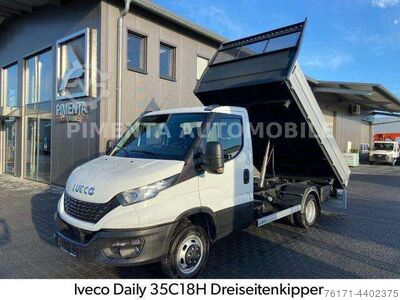 Iveco Daily 35C18HTrac Plus+Hill3 S kipper3,5tAHK1.99%