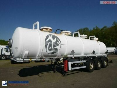 Sonstige/Other Maisonneuve Chemical ACID tank inox 22.5 m3 / 2 c