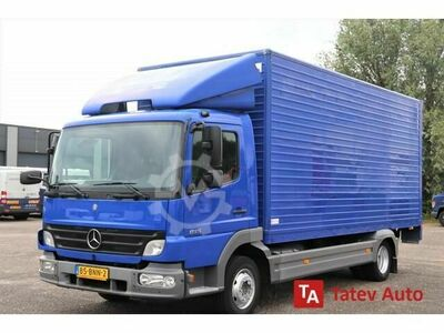 Mercedes-Benz ATEGO 815 BOX TRUCK CLOSED BOX LIFT AUTOMATIC
