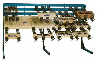 Clamp Rack Systems For Solid Wood Edge