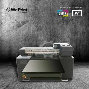 UV LED Digital Drucker A2 C M Y K + W