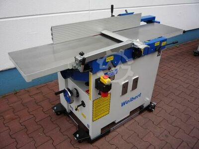 Jointer, thickness planer machines combined