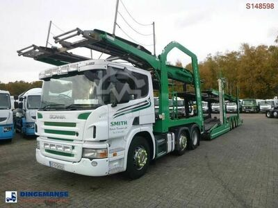 Scania P420 6x2 RHD Lohr car transporter