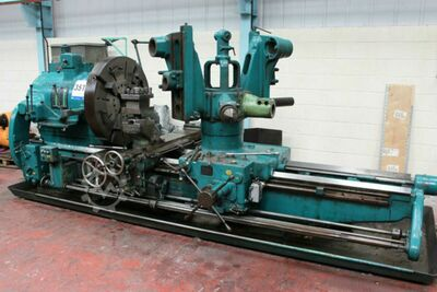 Herbert 1445 Combination Turret Lathe