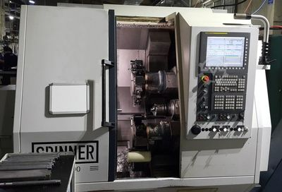 Zwilling Twin Turm Spindel CNC-Drehmaschine