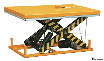 Car Lift Table 2000kg, size 1700x1000mm