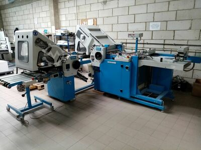 Sheet breaking machine GUK