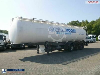 Lag Powder tank alu 58.5 m3 / 1 comp compressor