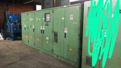 INDUCTION FURNACE 2200 KW