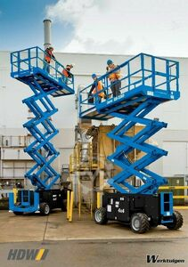 Genie GS-3369 RT rough terrain scissor lift