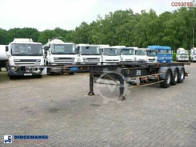 Sonstige/Other ASCA 3 axle container trailer 40 ft