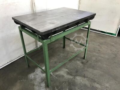 Straightening and welding plate cast steel heavily ribbed